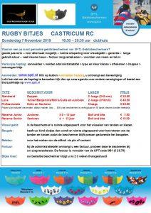 Rugby Castricum 7-11-2019